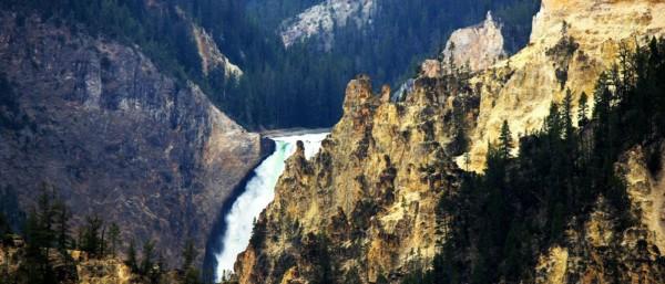 Closer view of Upper Falls