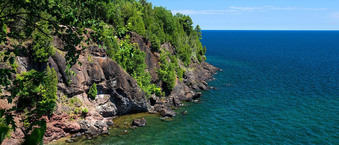 Black Rocks and Lake Superior