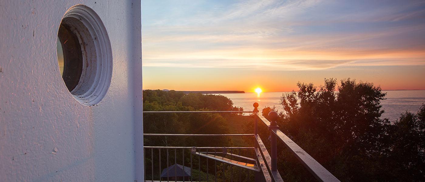 Sunset Big Bay Lighthouse