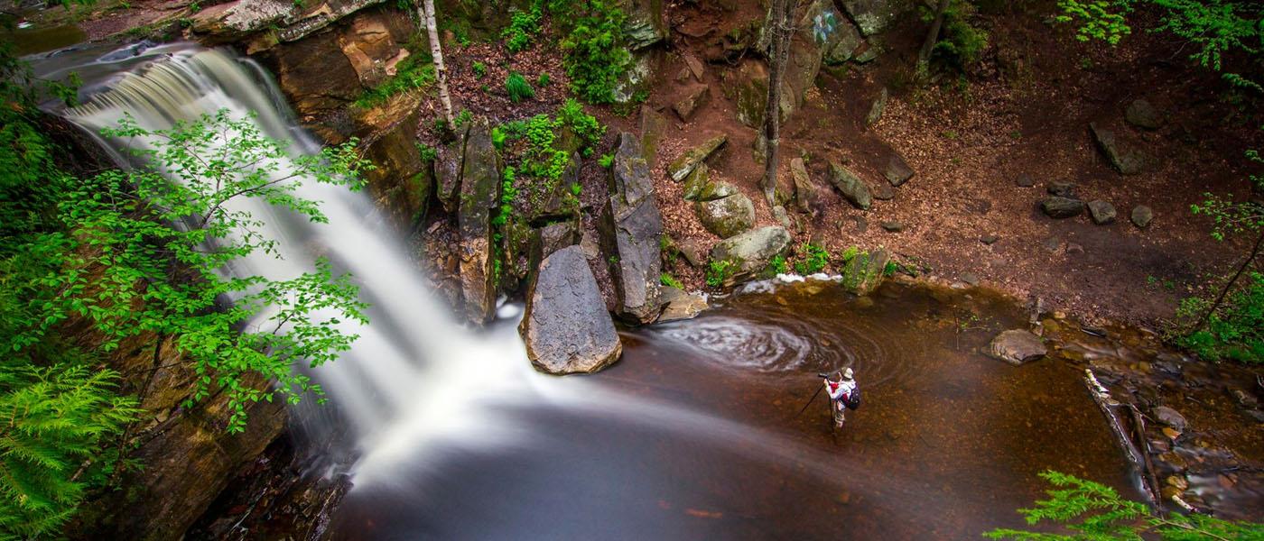 Amie at Hungarian Falls
