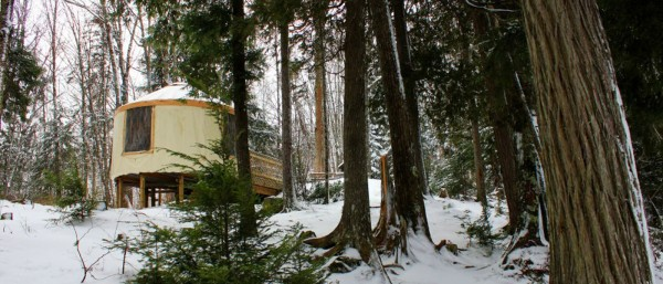 Teddy Lake Yurt