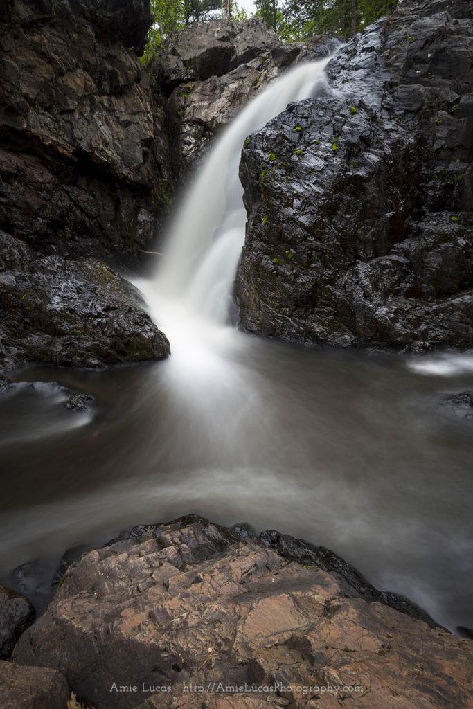 Third drop of dead river falls