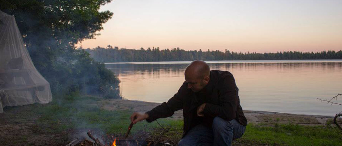 Steve at Cusino Lake