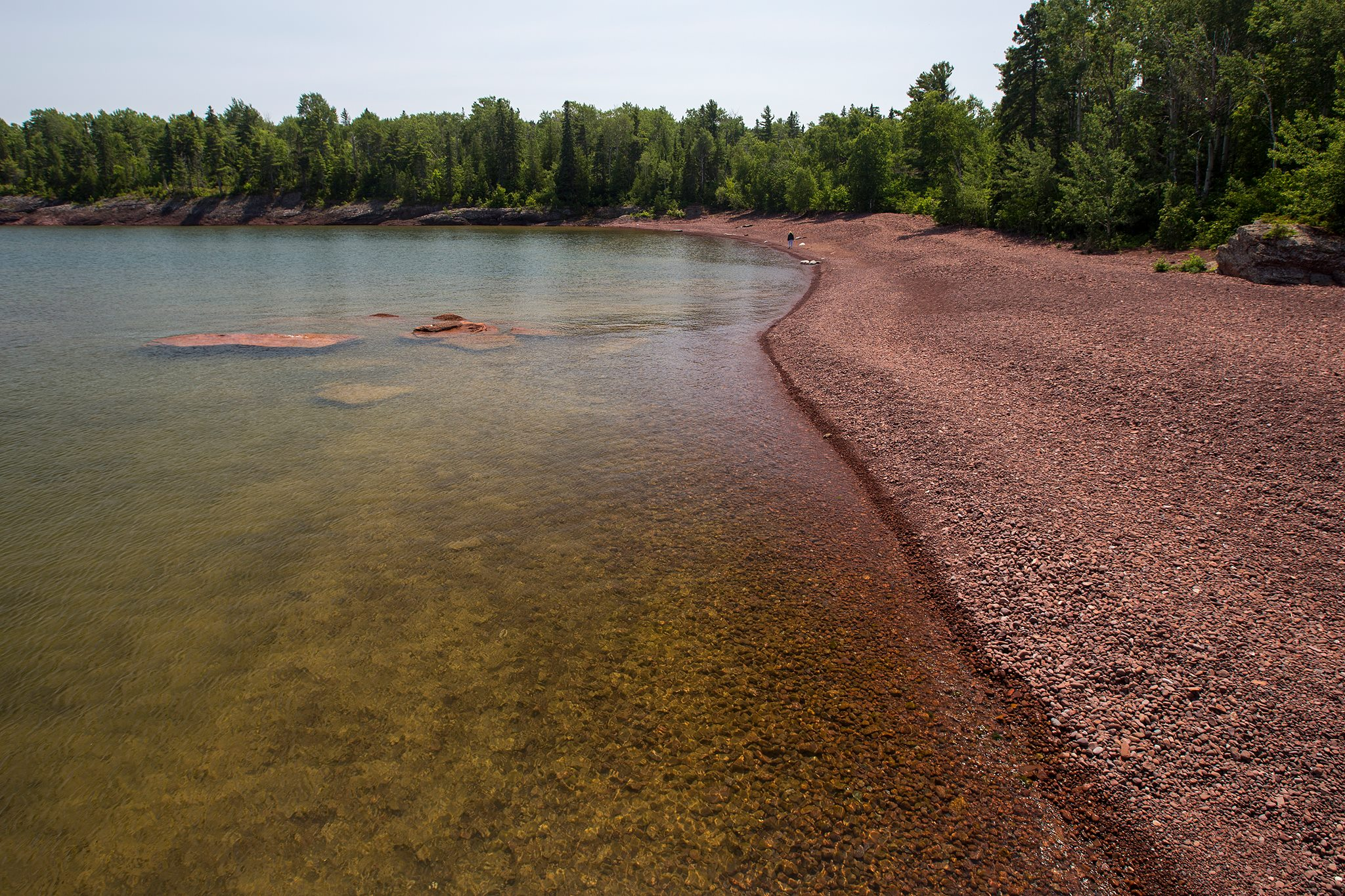 Red Cobble Beach